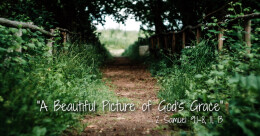 """""""A Beautiful Picture of God's Grace"""" (trad)"""