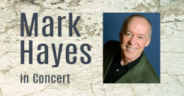 Mark Hayes Concert