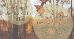 Being Rooted and Grounded in Love (trad.)