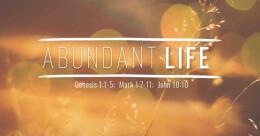 """Abundant Life"" (cont.)"