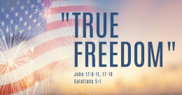 """True Freedom"" (cont.)"
